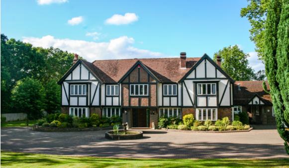 large estate home