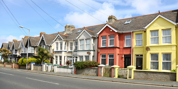 english street terraced house purchased with bridging loan